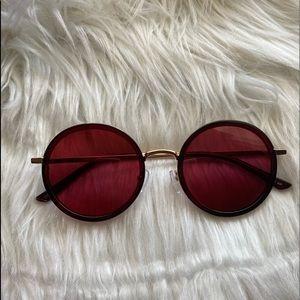 Prive Revaux Round Sunglasses
